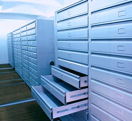 密集型图纸柜