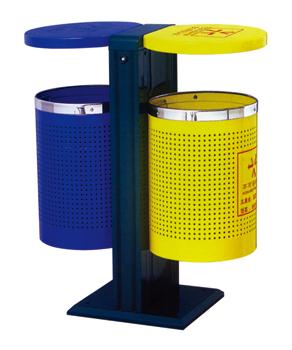 钢板喷塑垃圾桶
